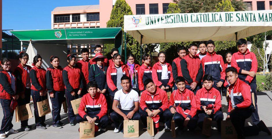 mas-de-4000-escolares-participaran-de-la-ix-feria-de-orientacion-vocacional-en-la-ucsm