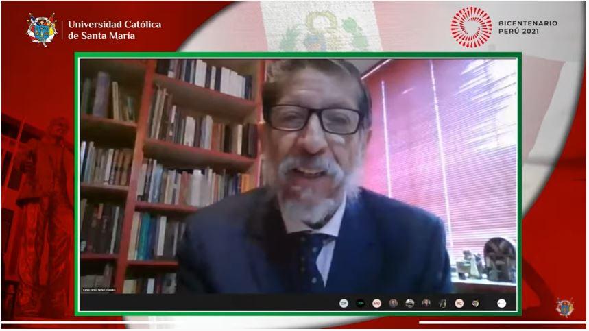 UCSM Comunidad santamariana renovó su compromiso con el Perú en el marco de su Bicentenario como República Independiente